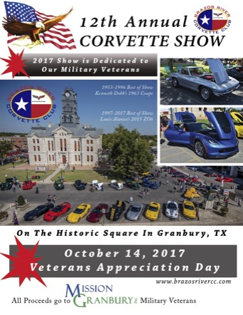 BRCC Annual Car Show Information Page - Granbury car show